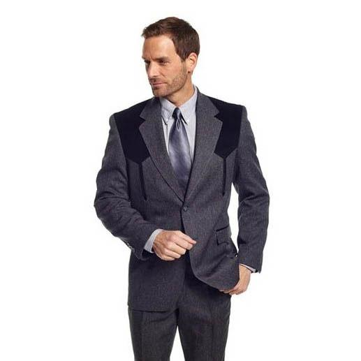 d2bfff698cc Cripple Creek Mens Charcoal Boise Sportcoat