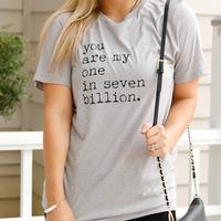 ATX Mafia Women's One in Seven Billion T-Shirt