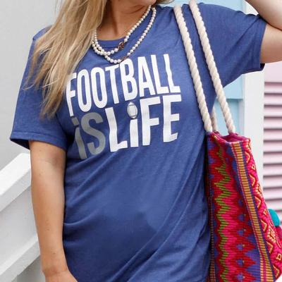Atx Mafia Women's Football Is Life T- Shirt