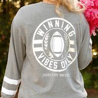 Jadelynn Brooke Women's Long Sleeve Winning Vibes T-Shirt