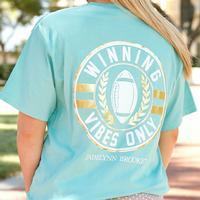 Jadelynn Brooke Women's Short Sleeve Winning Vibes T-Shirt