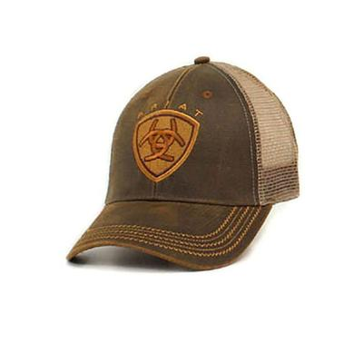 Ariat Men's Oilskin Mesh Cap