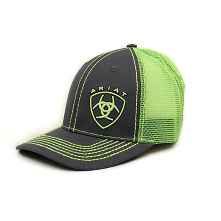 7fd15b8b54953 Ariat Men s Green Shield Cap