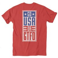 Rowdy Gentleman Men's Go USA T-Shirt