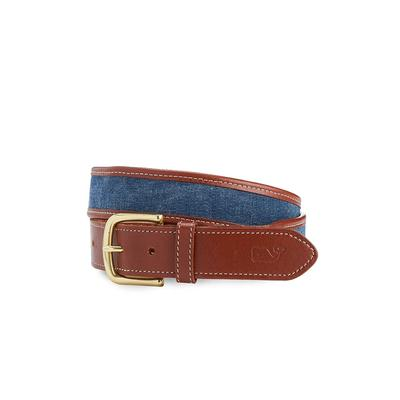 Vineyard Vines Men's Canvas Border Belt