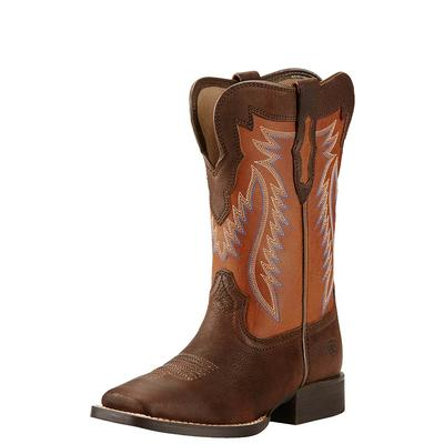 Ariat Youth Buscadero Pecos Brown 2- Toned Boots