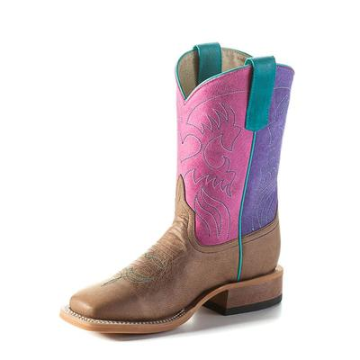 Anderson Bean Kids Pink, Purple, Mad Dog Boots
