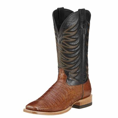 Ariat Mens Fire Catcher Caiman Print Boots
