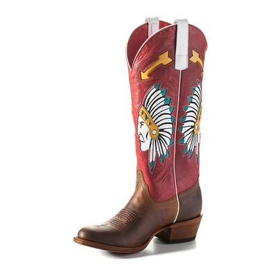 Macie Bean Women's Chief Rodeo Red Boots
