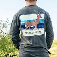 Burlebo Men's The Wild is Waiting Shirt