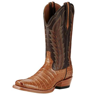 Ariat Men's Turnback Tan Caiman Boots