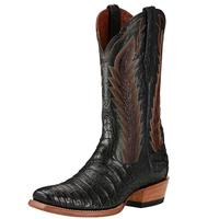 Ariat Men's Turnback Black Caiman Boots