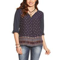 Ariat Women's Bernice Patterned Top