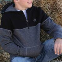 Cinch Boy's Two-Toned Fleece Hoodie