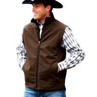 Cinch Men's Brown Concealed Carry Vest