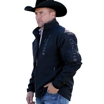 Cinch Men's Black Big Bonded Conceal Carry Jacket