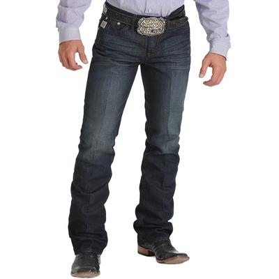 Cinch Men's Ian Indigo Mid Rise Slim Bootcut Jeans