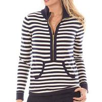 Duffield Lane Women's Porter Striped Pullover Sweater