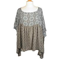Ivy Jane Women's Blue And Grey Tunic