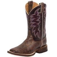 Justin Women's Bronze Cedro Bent Rail Boots
