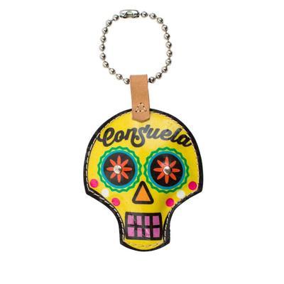 Consuela Legacy Sugar Skull Charm In Sunshine