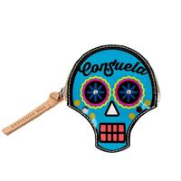 Consuela Legacy Sugar Skull Coin Purse In Ocean