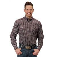 Roper Men's Honeycomb Long Sleeve Shirt