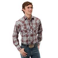 Roper Men's Rustic Plaid Long Sleeve Shirt