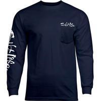 Salt Life Men's Salty Crab Long Sleeve T-Shirt