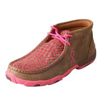 Twisted X Women's Neon Pink Basketweave Shoe