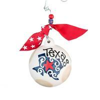 Glory Haus Texas Ball Ornament