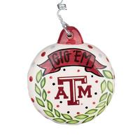 Glory Haus Texas A&M Puff Ornament
