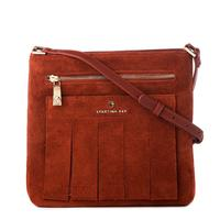 Spartina 449 Terracotta Suede Crossbody