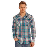 Rock and Roll Men's Brushed Twill Long Sleeve Shirt