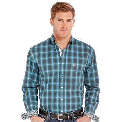 Rough Stock Men's Barrow Antique Long Sleeve Shirt