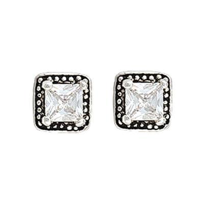 Montana Silversmiths's Star Lights Princess Earrings