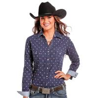 Rough Stock Women's Meribel Vintage Long Sleeve Shirt