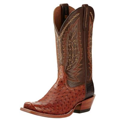 Ariat Men's Super Stakes Brandy Ostrich Boots