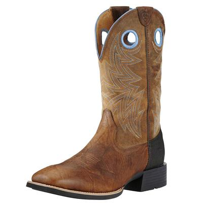 Ariat Men's Heritage Cowhorse Bar Top Brown Boots