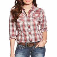 Ariat Women's Plaid Cher Snap Shirt