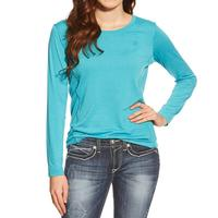 Ariat Women's Embossed Athletic Base-Layer Top