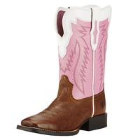 Ariat Girl's Wild Watermelon Buscadero Boots