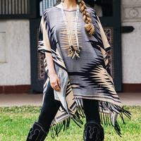 Double D Ranch Wear Women's Gauchos Blanket Poncho