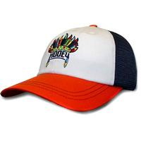 Hooey Orange, White and Navy Nana Mesh-Back Cap