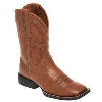 Justin Men's Burnished Brown Boots