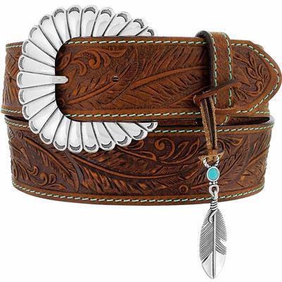 Justin Women's Feather Creek Charm Belt