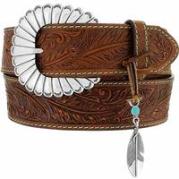 Justin Women's Feather Creek Charm Belt