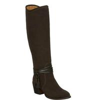 Lucchese Women's Brown Suede Ellie Boots