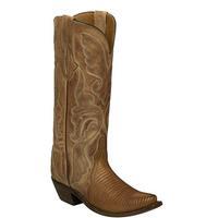 Lucchese Women's Nutmeg Carmen Lizard Boots