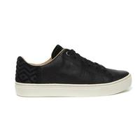 Toms Women's Black Leather Lenox Sneaker